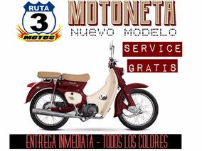 Moto Zanella Motoneta 110 Retro 0km 2018