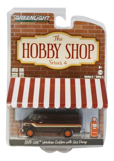 Hobby Shop Serie 4 1978 Gmc Vantura Custom - Greenlight