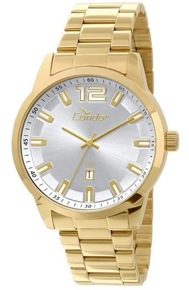 Relógio Condor Masculino Analógico Dourado Co2115uf/4k