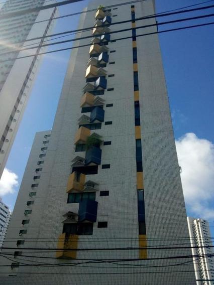 Apartamento Em Rosarinho, Recife/pe De 100m² 3 Quartos À Venda Por R$ 480.000,00 - Ap280648