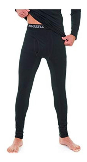 Calza Termica Russell Athletic Talle Xxl Negra Baselayer