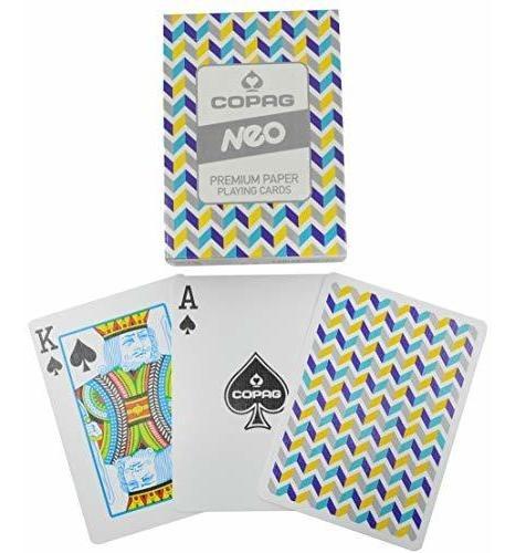 Copag Neo V2 Naipes Poker Tamaño Deck Cartamundi Custom Lim