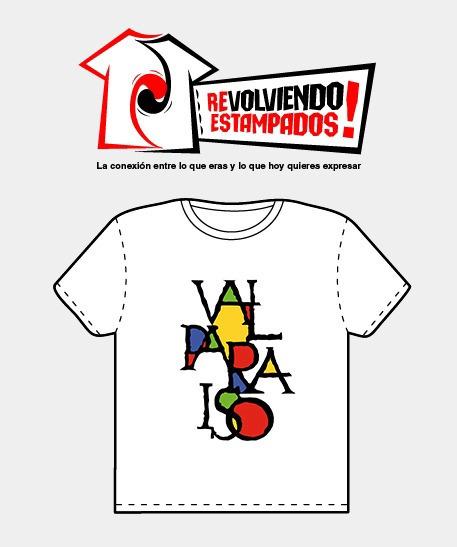 Poleras Estampadas Logo Valparaíso