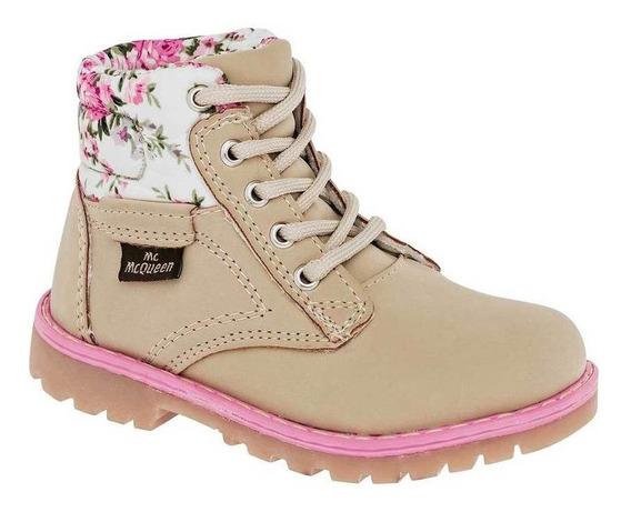 Bota Y Botin Mcqueen 2039 Beige Niña Shoes Pk