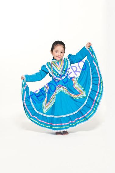 2 Vestido Regional Jalisco Talla 14