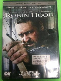 Robin Hood Dvd Original Russell Crowe