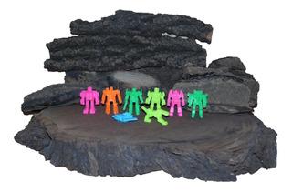Figuras Monocromáticas De Transformers Colección