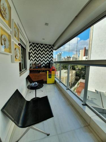 Lindo Apartamento De 162 M² No Sion - 1558