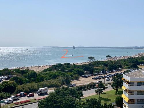 Coral Tower Punta Del Este Apartamento Lateral Con Vista Al Mar De Playa Mansa - Ref: 5331