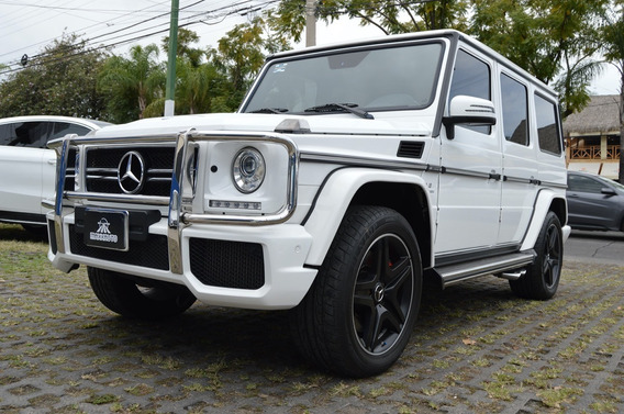 Mercedes Benz Clase G 63 Amg 2017 Blanco