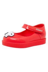 Sapato Infantil Snoopy Zaxy Vermelho