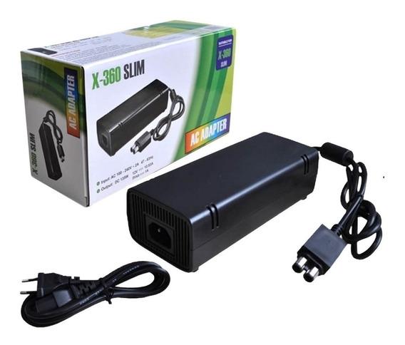 Fonte Xbox 360 Super Slim Bivolt 120w 110/220v 1m Bm520