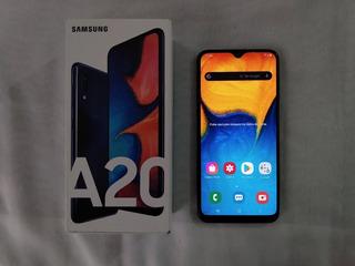 Celular Samsung Galaxy A20 - 32gb - 3gb Ram / Usado - Leer