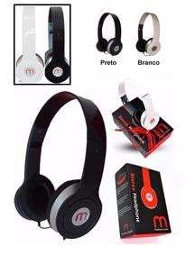 Headphone Mex - Am 567(preto Ou Branco) - Novo!!!