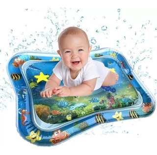 Alfombrilla Tapete Cojín Inflable Agua Bebé Juguete Estimula