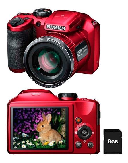 Câmera Fujifilm · Semi Profissional · Resolução De 16 Mp