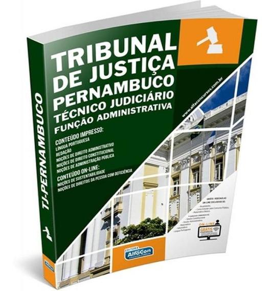 Tj-pe Tribunal De Justica De Pernambuco - Tecnico Judiciario