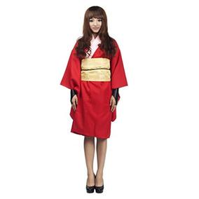 Mtxc Gintama Cosplay Kimono Kagura Para Mujer,