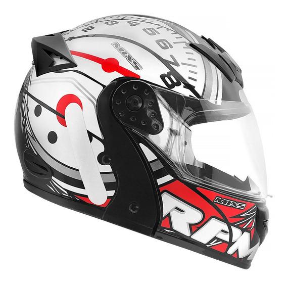 Capacete Moto Mixs Gladiator Escamoteavel Robocop Articulado