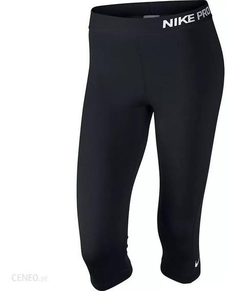 Legging Nike Dama Pro Capri Negro Original 589366010