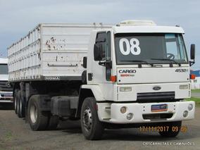 Ford Cargo 4532 4x2 Carreta Graneleira Noma Toco C/pneus