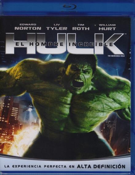 Hulk El Hombre Increible Edward Norton Pelicula Blu-ray