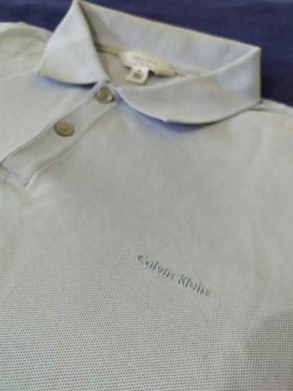 Calvin Klein Playera Polo Talla Mediana Ck Original