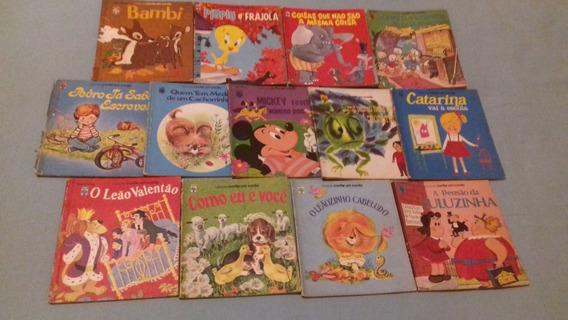Livro Infantil Antigo Coleção Conte Um Conto / Unidade