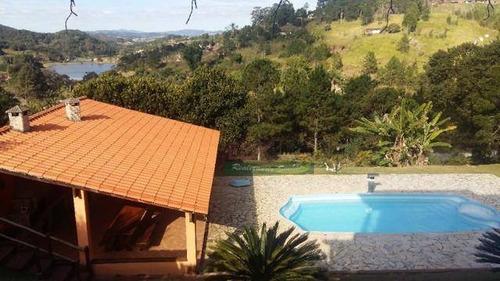 Imagem 1 de 19 de Chácara Com 4 Dormitórios À Venda, 4600 M² Por R$ 1.166.000 - Centro - Biritiba Mirim/sp - Ch0488