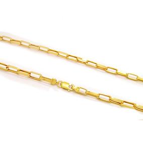 Corrente Cartier Maciça Em Ouro 18k - Ov / 12020.60