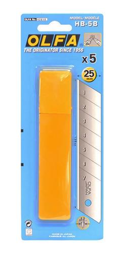 Repuesto Olfa Hb-5b Para Cutter De 25mm