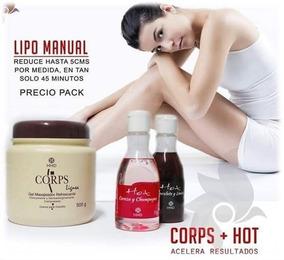 Kit Lipo Manual, Corps+ Gel Hot - Grupo Hinode (hnd)