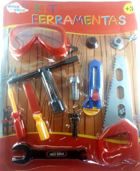 Kit Ferramenta Infantil 12 Unidades