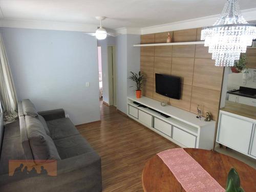 Apartamento À Venda, 76 M² Por R$ 410.000,00 - Loteamento Center Santa Genebra - Campinas/sp - Ap0680