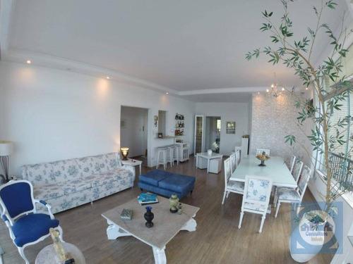 Imagem 1 de 20 de Apartamento Com 3 Dormitórios À Venda, 180 M² Por R$ 850.000,00 - Itararé - São Vicente/sp - Ap5764