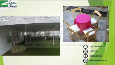 Salas Lounge,periqueras De Madera,renta Carpas Elegantes