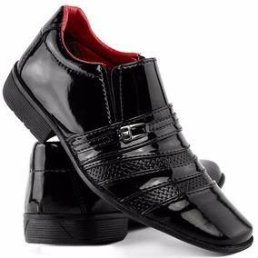 e8c8855cc Sapato Masculino Social Infantil Verniz Dhl Calçados Franca