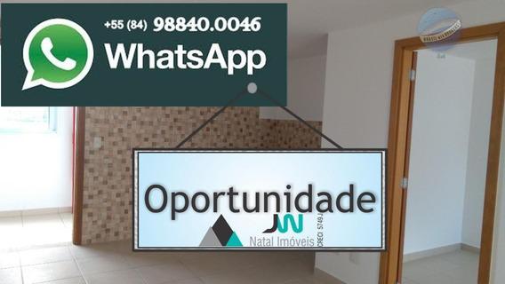 Apartamento Beira Mar Em Praia De Pirangi Do Norte, Pronto Para Morar - Villa Imperial - Complexo Porto Brasil - Ap0025