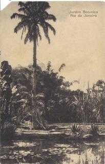 Cartão Tipográfico Jardim Botânico / Rio De Janeiro