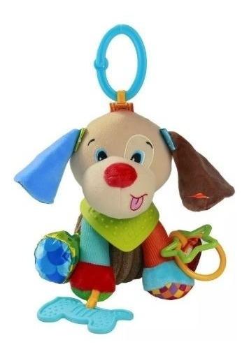 Brinquedo Bebê Mobile Mordedor Cachorro Pendurar Menino 1 Pç
