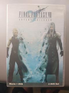 Final Fantasy Advent Children Edición Rara 2 Dvd