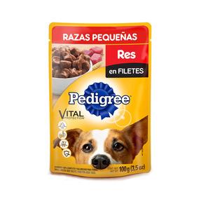 Pedigree Perro Adulto Pouch Sobre Res En Filete 100gr