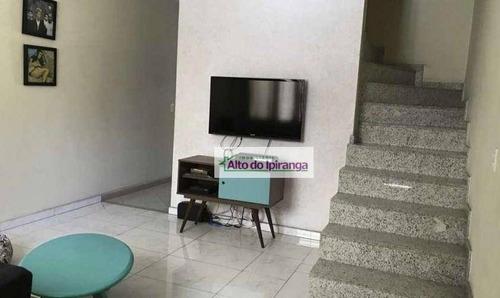 Sobrado À Venda, 166 M² Por R$ 1.060.000,00 - Jardim Glória - São Paulo/sp - So1049