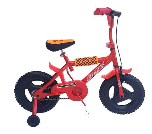 Imagen 1 de 4 de Bicicleta Rodado 12 Full Freno Protecciones Reforzadas R12