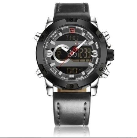Relógio Naviforce® Importado Fashion Sport Anadigi - Oferta