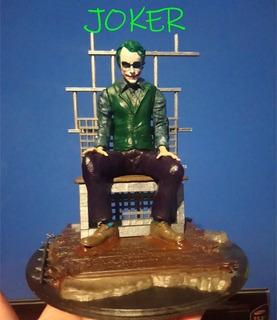 Joker Heath Ledger Impresion 3d