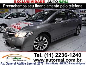 Honda Civic 1.8 Lxl Couro Flex 4p