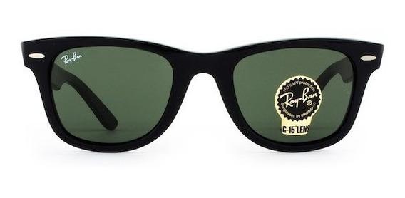 Óculos Ray Ban Wayfarer Rb2140 Verde G15 Masculino Feminino