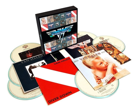 Van Halen - The Studio Albums 1978-1984 6 Cds Box Set