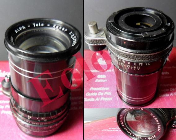 Tele Xenar 135mm 3,5 / P/ Camera Alpa * Rara &